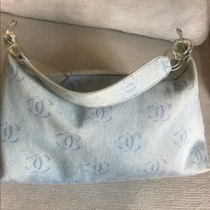 RARE authentic vintage Chanel Monogram hobo bag
